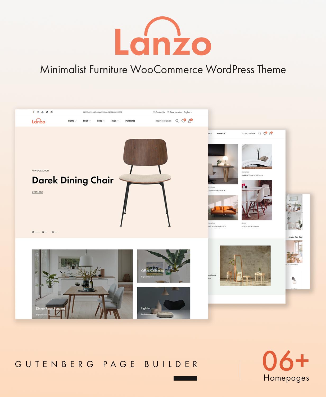 Lanzo-Gutenberg WooCommerceWordPressテーマ-1